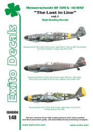EXITO Decals 1/48 Last In Line vol.1