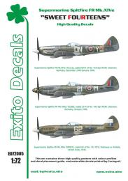 EXITO Decals 1/72 Sweet Fourteens (Spitfire Mk.XIV)