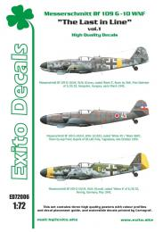 EXITO Decals1/72 Last In Line vol.1