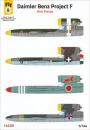 FLY 1/144 Daimler Benz Project F (Axis Forces)