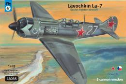 FLY 1/48 Lavochkin La-7 3 cannon version ex-Gavia