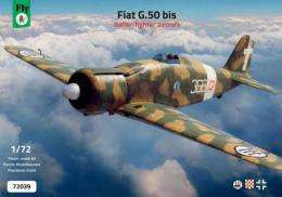 FLY 1/72 Fiat G.50 bis Italian fighter (4x camo)