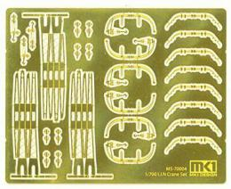 FUJIMI 1/700 IJN Crane Set Etching Parts
