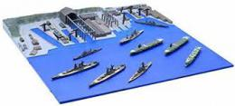 FUJIMI NO.3 1/3000 Kure Naval Port (In This Corner (and Other Corners) of the World) IJN Battleship Yamato Package - zvìtšit obrázek