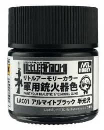 GUNZE Mr.Color  LAC01 Alumite Black
