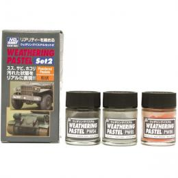 GUNZE  PP-102 Weathering Pastel Set 2