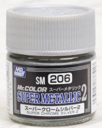 GUNZE SM-206 Super Chrome Silver 2