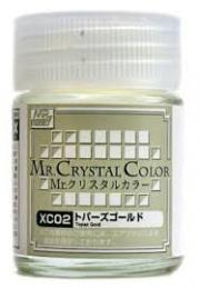 GUNZE Mr.Crystal Color XC-02 Topaz Gold