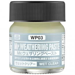 GUNZE Mr.Weathering Paste WP03 Wer Clear 40 ml