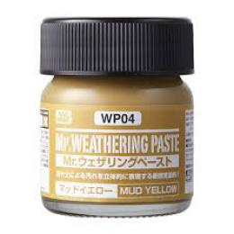 GUNZE Mr.Weathering Paste WP04 Mud Yellow 40 ml