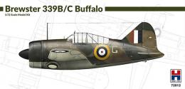 H2000 1/72 Brewster Model 339B/C Buffalo Mk.I in RAF serv.