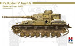H2000 1/72Pz.Kpfw.IVAusf.G Eastern Front 1943 EX-DRAGON, CARTOGRAF Decals