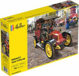 HELLER 1/24 Renault Taxi Type AG