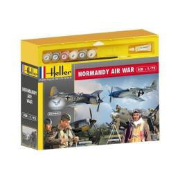 HELLER 1/72 Normandie Air War (Mustang, FockeWulf