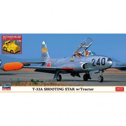 HASEGAWA 1/72 T-33A Shooting Star w/Tractor