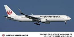 HASEGAWA 1/200 Boeing 767-300ER with Winglet Japan Airlines