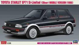 HASEGAWA 1/24 Toyota Starlet EP71 Si-Limited