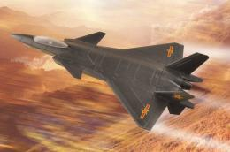HOBBYBOSS 1/72 Chinese J-20 Mighty Dragon
