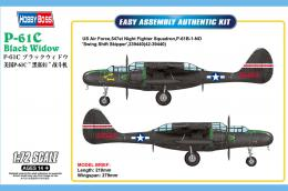 HOBBYBOSS 1/72 US P-61C Black Widow