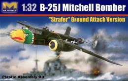 HK MODELS 1/32 B-25J Mitchell Strafer