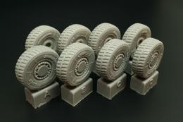 HAULER 1/48 JGSDF Type 16 - wheels set for TAM