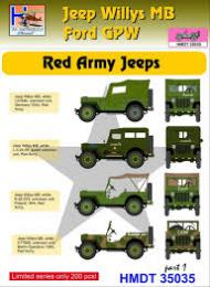HM DECALS 1/35  Jeep Willys MB/Ford GPW Red Army 1