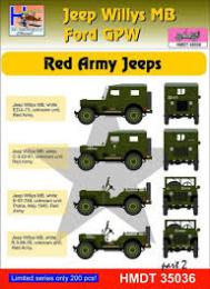 HM DECALS 1/48  Jeep Willys MB/Ford GPW Red Army 2