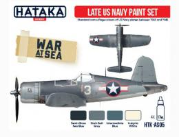 HATAKA Red AS05.2 Late US Navy Paint Set