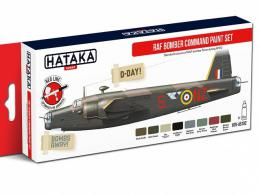 HATAKA Red  Set AS102 RAF Bomber Command Paint set