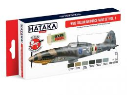 HATAKA Red SET AS103 WW2 Italian Air Force paint set vol.1