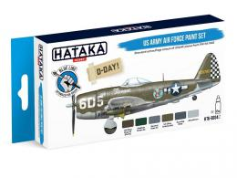 HATAKA Blue SET BS04.2 US Army Air Force paint set