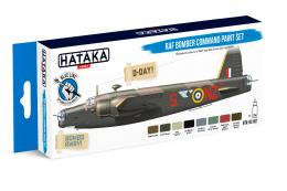 HATAKA Blue Set BS102 RAF Bomber Command paint set