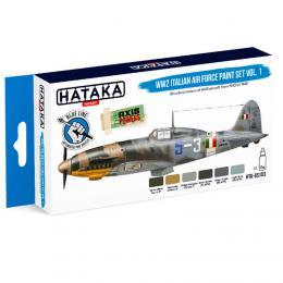 HATAKA Blue Set BS103 WW2 Italian Air Force Paint set vol.1