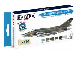 HATAKA Blue Set BS47 Polish Air Force Su-22M4 paint set