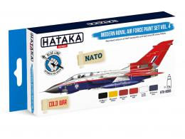 HATAKA Blue Set BS85 Modern Royal Air Force paint set vol.4