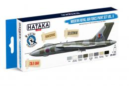 HATAKA Blue Set BS97 Modern Royal Air Force paint set vol.5