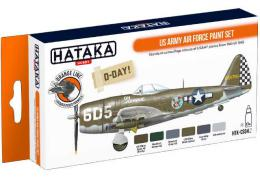 HATAKA Orange Set CS04.2 US Army Air Force paint set