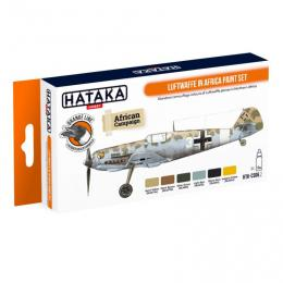 HATAKA Orange Set CS06.2 Luftwaffe in Africa paint set