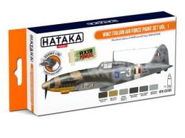 HATAKA Orange Set CS103 WW2 Italian Air Force paint set vol.1