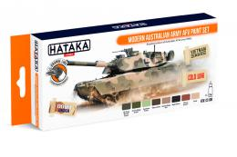 HATAKA Orange Set CS108 Modern Australian Army AFV paint set