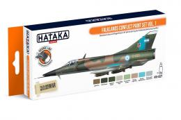 HATAKA Orange Set CS27 Falklands Conflict paint set vol.1