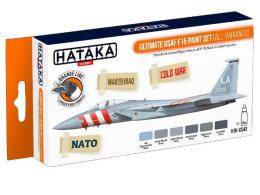 HATAKA Orange Set CS43 Ultimate USAF F15 paint set