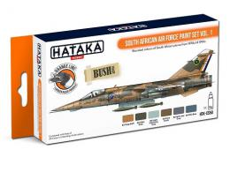 HATAKA Orange Set CS50 South African Air Force paint set v.1