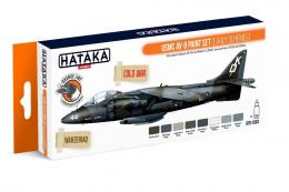 HATAKA Orange Set  CS63 USMC AV-8 Harrier Paint set ( early schemes)