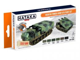 HATAKA Orange Set  CS65 Modern Finnish Army AFV paint set