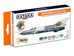 HATAKA Orange Set CS91 Modern Romanian AF paint set vol.1