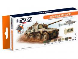 HATAKA Orange Set CS92 South African Army paint set
