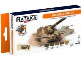 HATAKA Orange Set CS95 WW2 Soviet AFV paint set