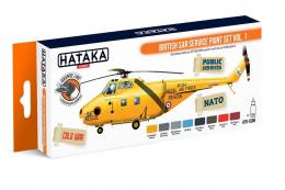 HATAKA Orange Set  CS98 British SAR Service paint set vol.1