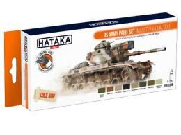 HATAKA Orange Set CS99 US Army paint set(Masster&Dualtex)